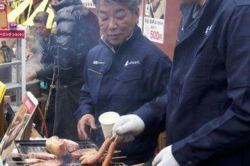 เทศกาลหอยนางรมมัตสุชิม่า