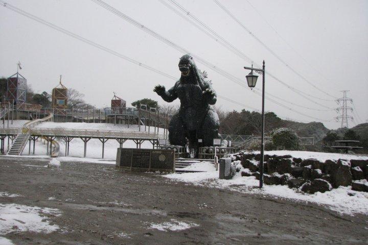 Yokosuka's Godzilla Slide