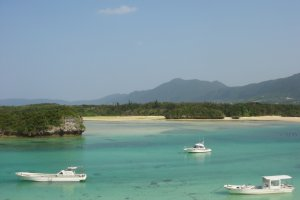 Dream destination Kabira Bay, one of the most beautiful views in Japan