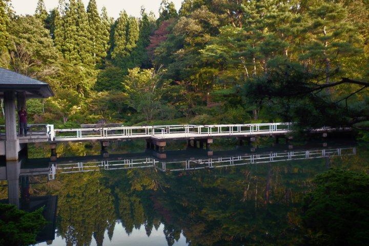 สวน Kenritsu Koizumigata ใน Akita