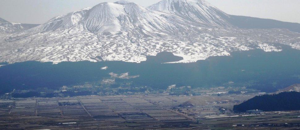 Winter in the Mt Aso region