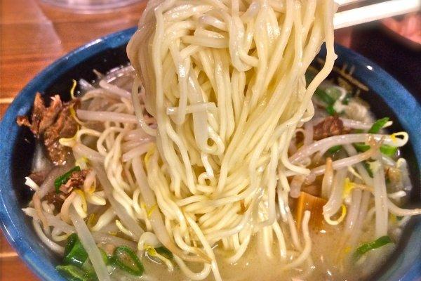 Delicious Moyashi (Bean Sprouts)Tetsugama ramen,¥650