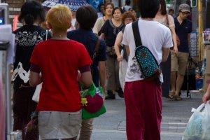 Fashion in the trendy neighborhood of Shimokitazawa