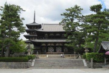 A Visit to Horyuji