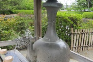 Chozuya at the Sei-in Garan (Western building)