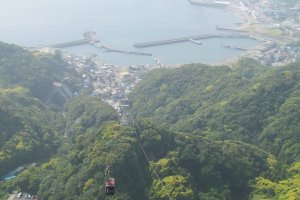 Cable car ride to Nokogiriyama