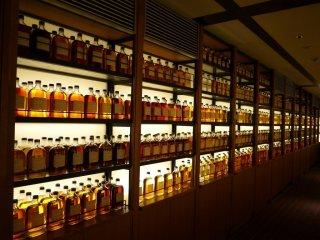Yamazaki Whiskey Library