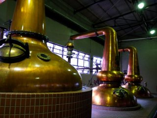 This is where they make the whiskey