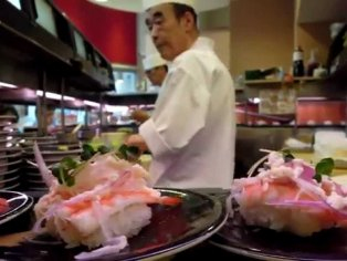 Sushi in Ueno