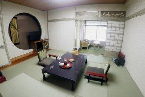 Une chambre de style japonais