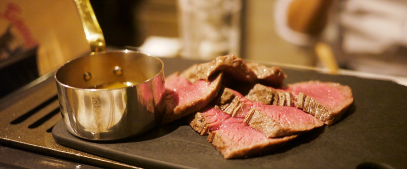 The delicious Bambina Steak