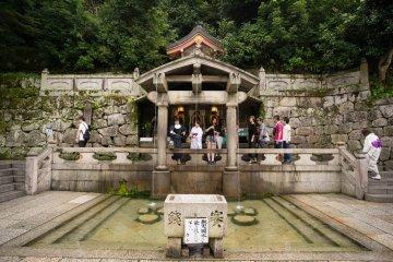 Kiyomizu Temple and Otowa Waterfall