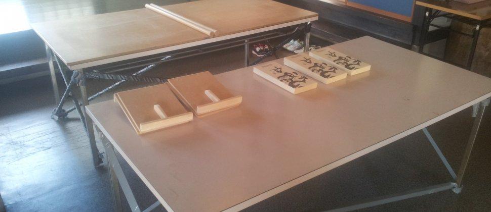 '우에다노사토'에서 소바 만들기