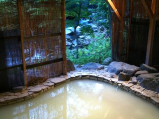 To be called an onsen, the water must be from a natural volcanic source and naturally heated, or more often it is cooled to a safe temperature to sit in