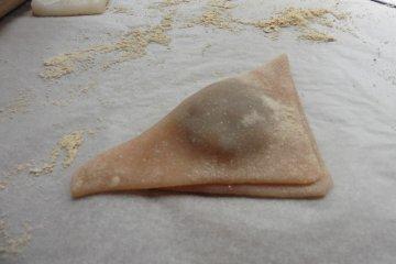 京都学艺:制作「八桥」和式甜点