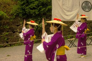 A dance performed during the activities