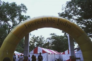 The entry to the festival