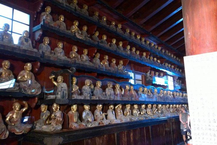 Le Temple Hoon-ji à Morioka