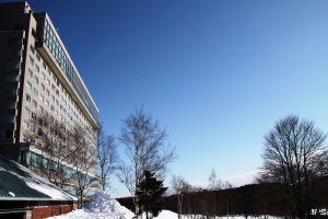 Whether you fancy skiing or relaxing at the spa, Kitahiroshima is a winter wonderland