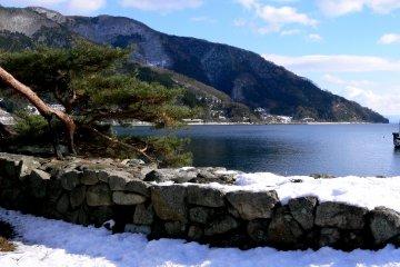 Tuyết tại Makino