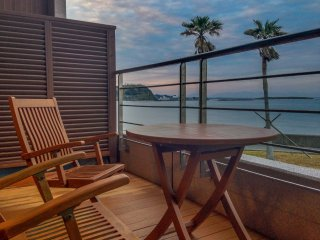 You can relax with a book or a drink on these balcony chairs