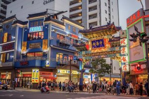The gates of Yokohama Chinatown are spectacular gateways to another place and time