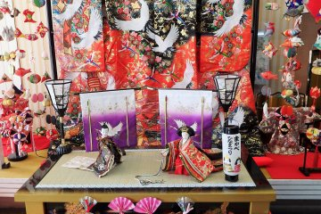 Makabe Hina Doll Festival Displays