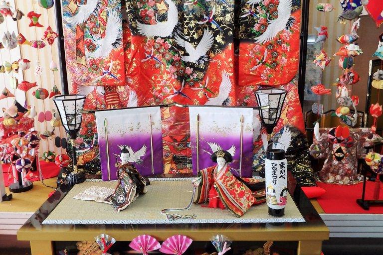 Makabe Hina Doll Festival Displays