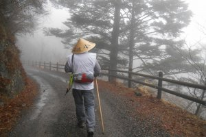Vers le sanctuaire Tamaki-jinja