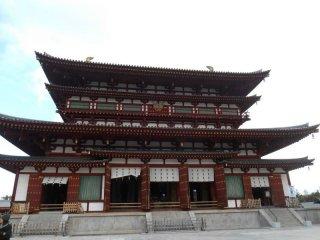 Le bâtiment principal kondo