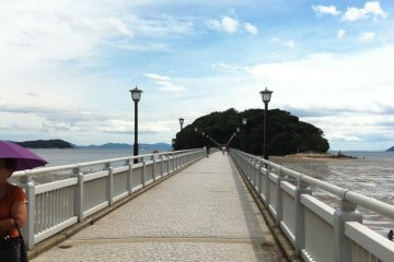 Takeshima island near Aichi