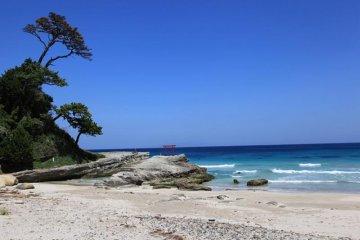 下田湾と伊豆諸島