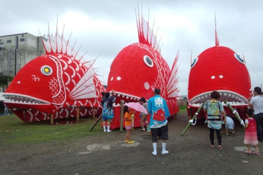 Clash of the TAI-tans, the Toyohama Tai Matsuri!