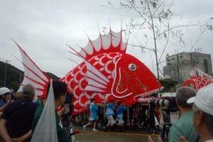 18m long sea bream float