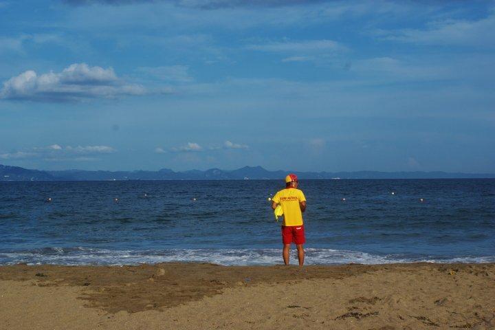 La plage de Miura