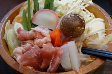 Chanko-Nabe in the Sumo Town of Ryogoku