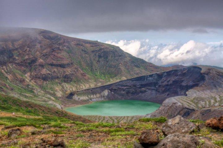Zao-san's Okama Crater Lake