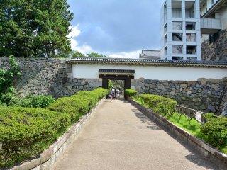 城堡的其中一道入口