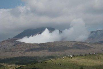 熊本阿蘇山噴火について