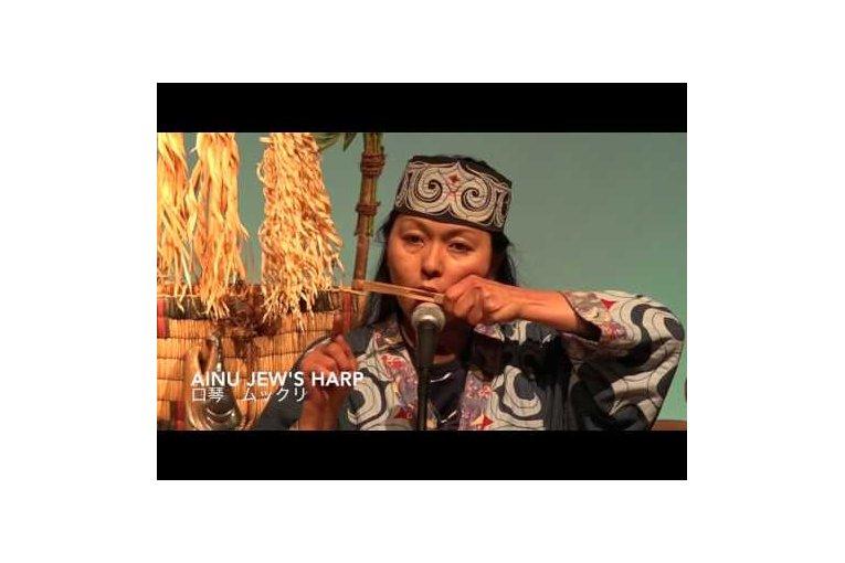 Традиционный айнский танец