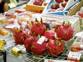 Dragonfruit at a local vendor shop