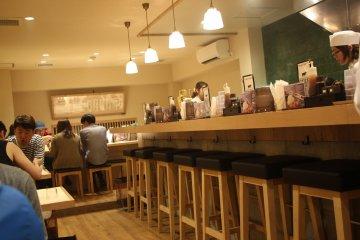 Гюкацу в центре Киото