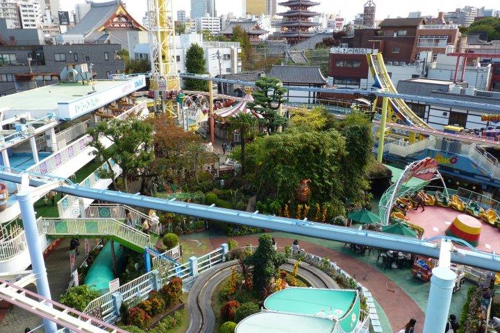 Le Parc d'Attractions Hanayashiki