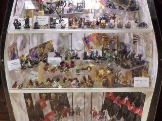 Even visitors that are not interested in Japanese animation will find many of the displays interesting.
