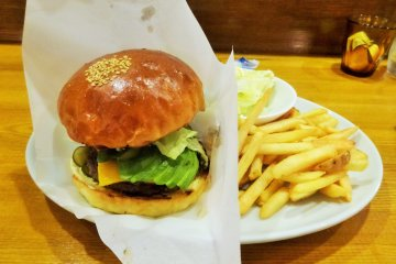 Grand Burger in Kyoto