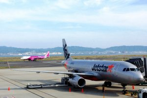 The Kansai to Narita route is dominated by low cost carriers like Jetstar Japan and Peach.