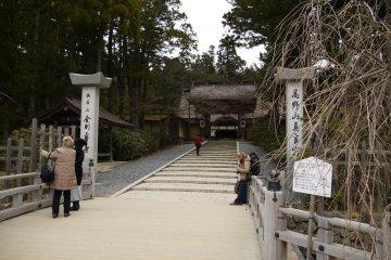 ต้นฤดูหนาวที่โคะยะซาน