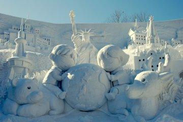Le Festival de la Neige de Sapporo