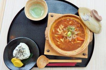 Makan di Hotel Minakami Kogen 200