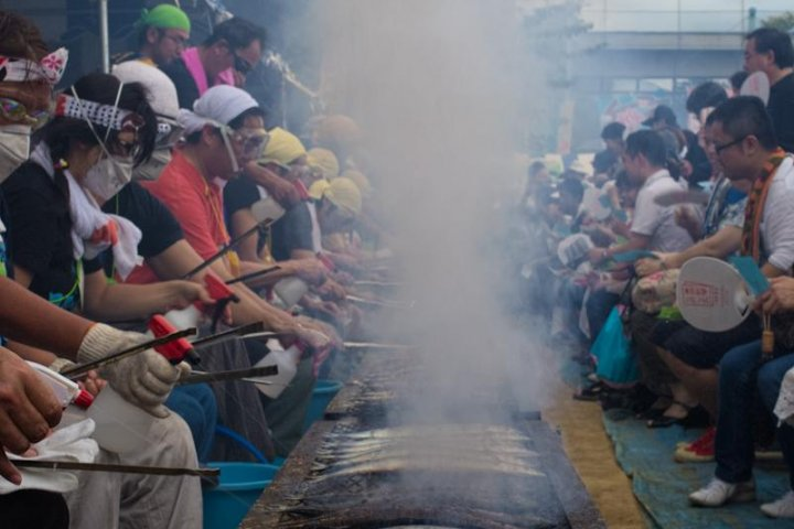Tokyo's Mackerel Pike Festival
